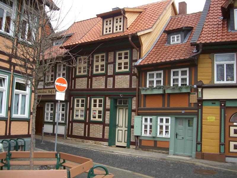 Wernigerode ferienhaus wernigerode am kleinsten haus for Pension wernigerode